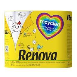 Papel higiénico recycled 2 folhas