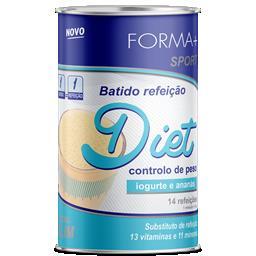 Batido diet iogurte e ananás