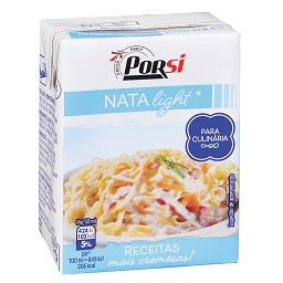 Nata uht light para culinária