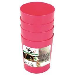 Copos para pic nic 145 ml rosa