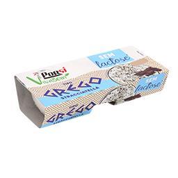 Iogurte grego stracciatella sem lactose