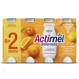 Iogurte Actimel cítrico