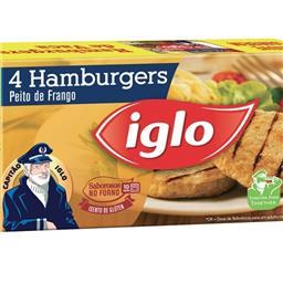 4 hamburguers frango s/ glúten