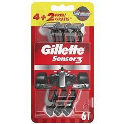 Máquina de barbear descartável sensor 3