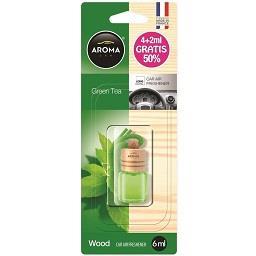 Ambientador wood green tea