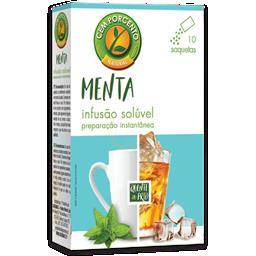 Chá solúvel menta