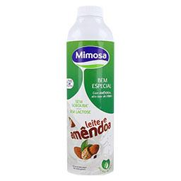 Mimosa bem especial leite e amêndoa