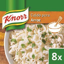 Caldo p/ arroz  8 cubos