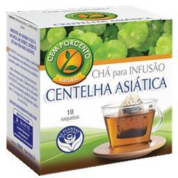 Chá infusão centelha asiática