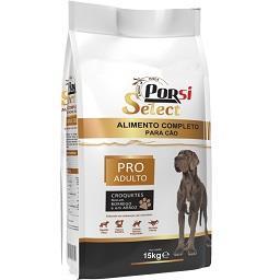 Alimento seco para cão, croquetes pro adulto