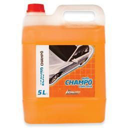 Shampo automóvel laranja