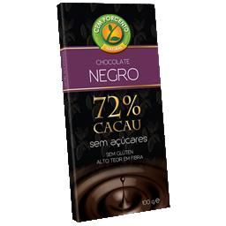 Chocolate negro 72% cacau