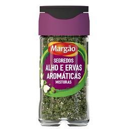 Segredos alho e ervas aromáticas