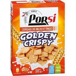 Cereais golden e crispy