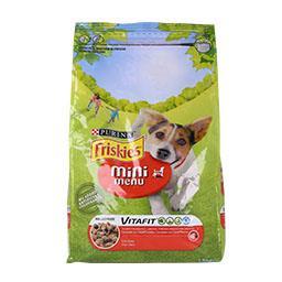 Ração para cão mini adulto menu vitafit com vaca