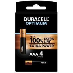 Pilhas Alcalinas AAA Optimum