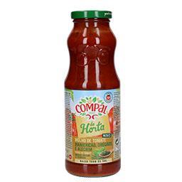 Molho tomate de manjericão/oregões/alecrim