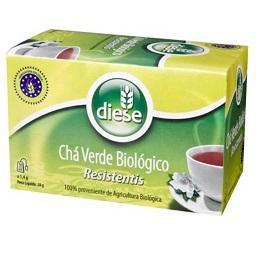 Chá verde biológico, 20 saquetas