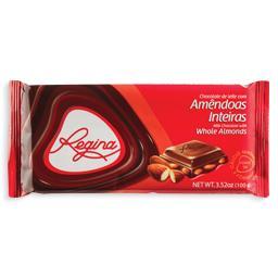 Tablete chocolate com amêndoas