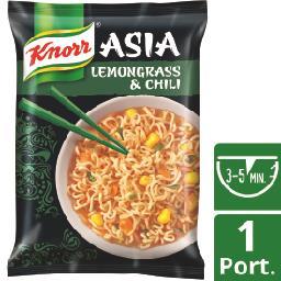 Noodles chili & lemongrass