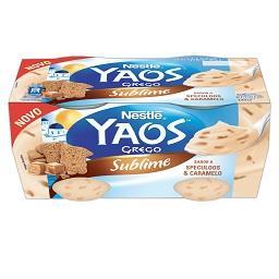 Iogurte Yaos Sublime Speculos Caramel