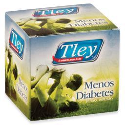 Chá, menos diabetes, 10 saquetas