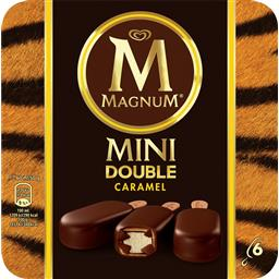 Magnum mini double caramelo