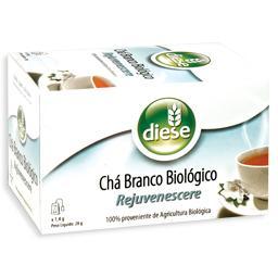 Chá branco biológico, 20 saquetas