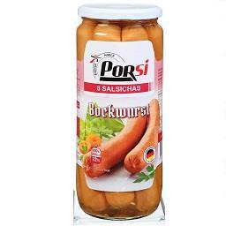 8 Salsichas Bockwurst