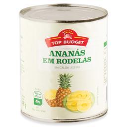 Ananás em rodelas