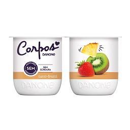 Iogurte corpos danone aroma tutti fruti