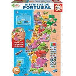 Puzzle Mapa de Portugal