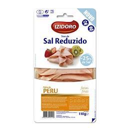 Peito de peru c/ teor de sal reduzido fatias finas