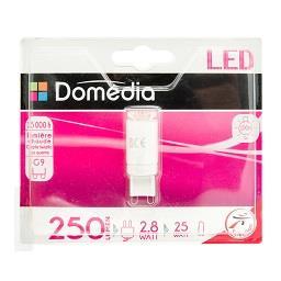 Lâmpada LED Cápsula 2.8W G9 220-240V