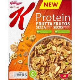 Cereais com frutos secos special k protein