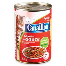 Alimento húmido para gato de coelho/moela/legumes
