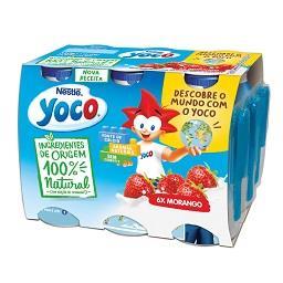 Iogurte líquido yoco 100% natural morango