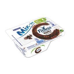 Iogurte mix-in fitness granola e chocolate