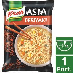 Noodles asia teriyaki