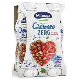Iogurte líquido cremoso zero morango/melancia
