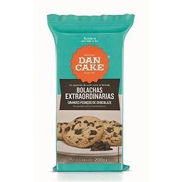 Bolachas Extraordinárias Grandes Pedaços Chocolate