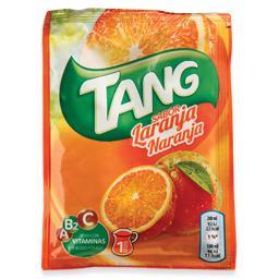 Refresco em pó de laranja