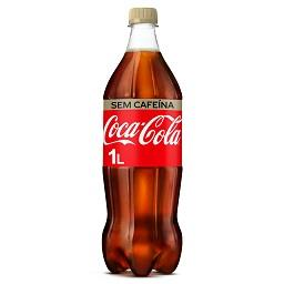 Coca-cola sem cafeína pet 1 ltr individual unidad