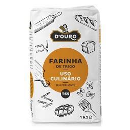 Farinha de trigo uso culinário s/ fermento t65