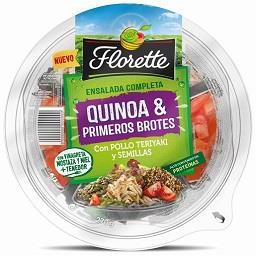 Salada Completa Quinoa