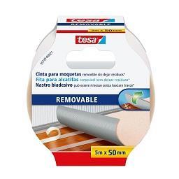 Fita bi-adesiva removível envoltório - 5m x 50mm