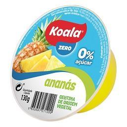 Gelatina de origem vegetal de ananás 0%