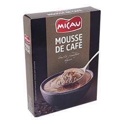 Preparado para mousse de café