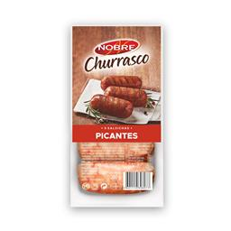 Salsichas picantes para churrasco