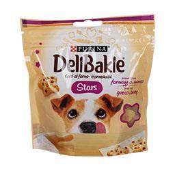 Snack stars para cão com queijo e vaca
